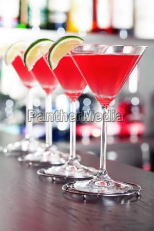 cocktails collection cosmopolitan