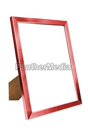 cornice di foto vuota in alluminio