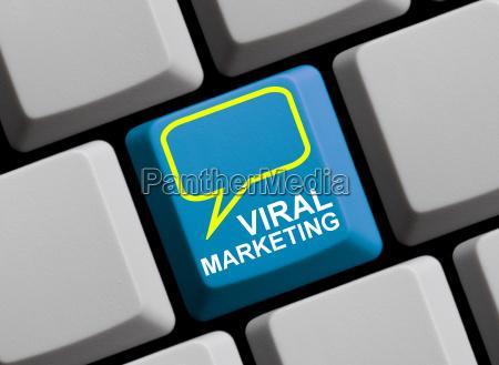 viral marketing on line