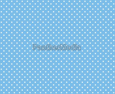 pois azzurro bianco