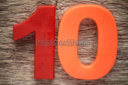 plastic number ten