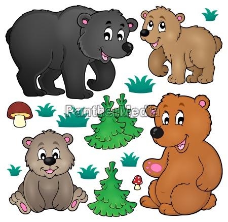 vari orsi collezione tema 1