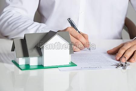 contratto di casa firma daffari