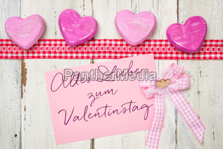 rosa card alles liebe zum