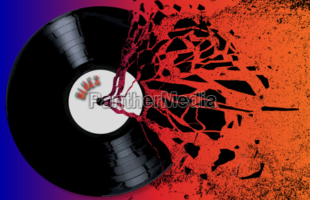 musica arte musicale grafico nero rotto