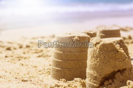 estate creativo divertimento sulla spiaggia