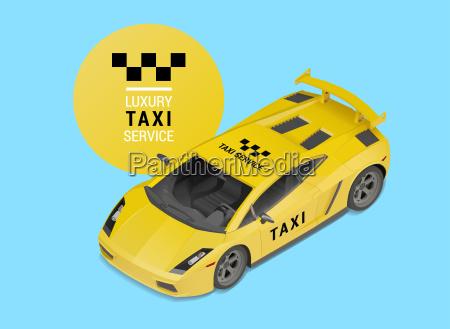 taxi car servizio di lusso vettore