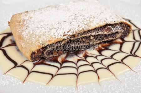 pancake, con, semi, di, papavero - 16034007