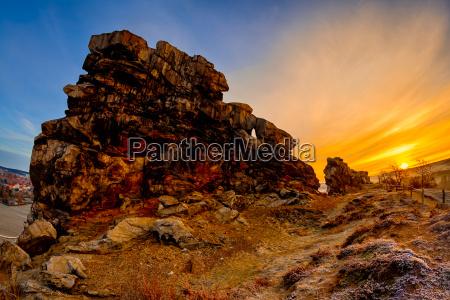 attrazione rocce roccia resina cielo firmamento