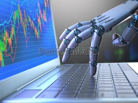 trading di robot per il mercato
