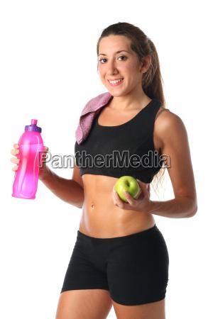 donna risata sorrisi salute sport dello
