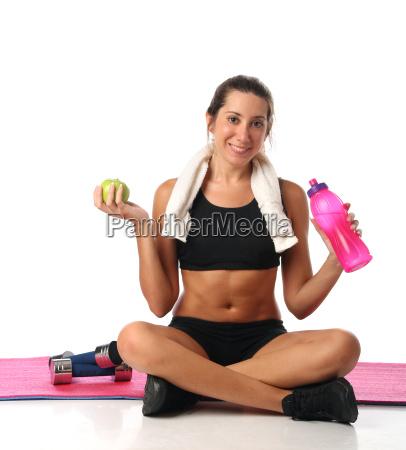donna salute sport dello sport rilasciato
