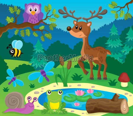 animale fauna animali natura gufo foresta