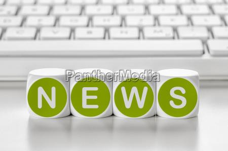 tastiera lettere notizie attuale corrente