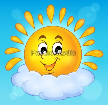 immagine, del, tema, del, sole, allegro - 16328503
