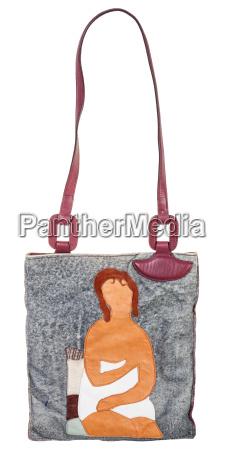 donna borsetta oggetto rilasciato moda donne