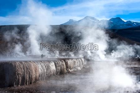 chile valle dei geyser nel deserto