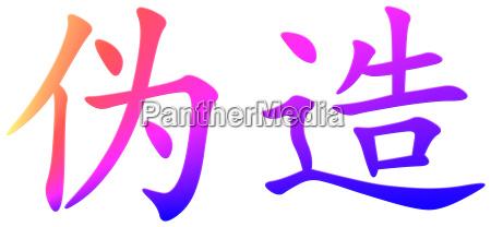 segnale parola imitazione falsificazione copia contraffazione