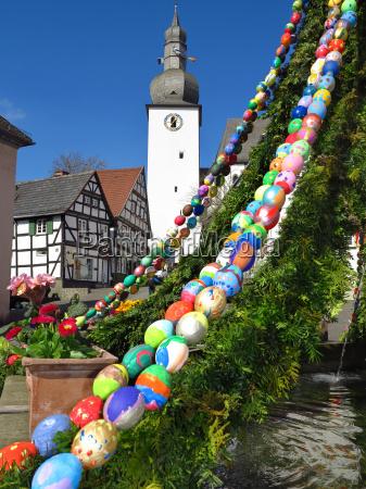 osterbrunnen a arnsberg dal centro storico