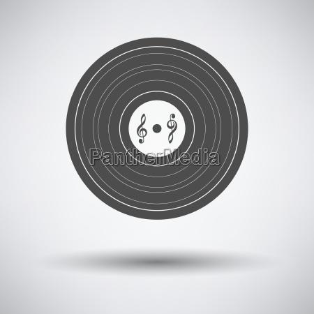 musica suono simbolico disco record stemma