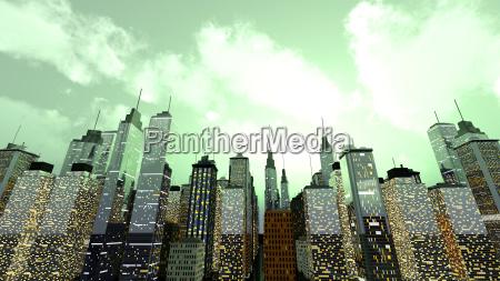 casa costruzione torre citta metropoli grafico