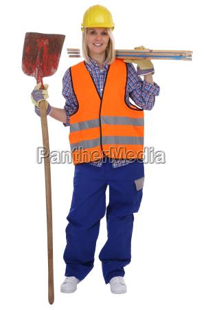 operaia edile operaia operaia di occupazione