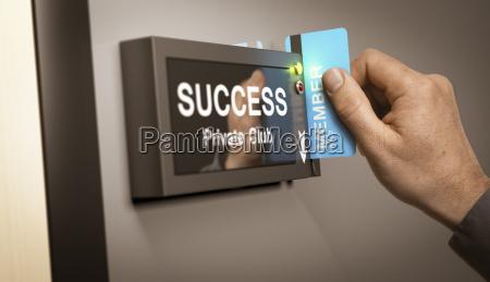 privato carriera mano raggiungere con successo