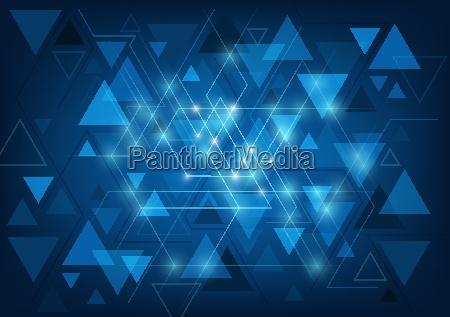 sfondo triangolare astratto