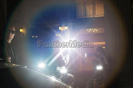 notte orizzontale macchina fotografica allaperto evento