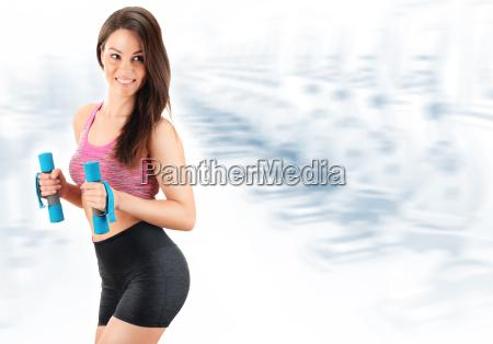 donna atletico sportivo dieta palestra ginnastica
