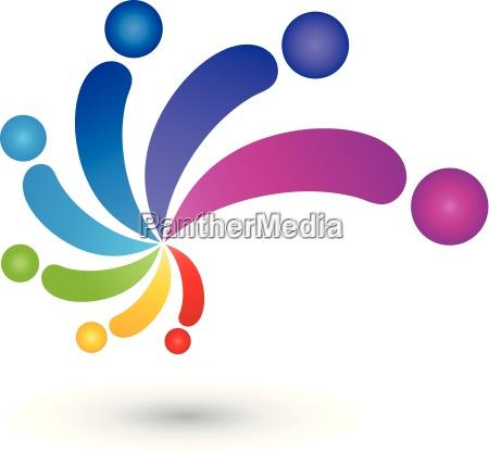 spirale la gente il colore pittore