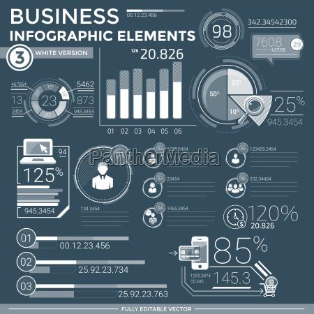 elementi infografici aziendali