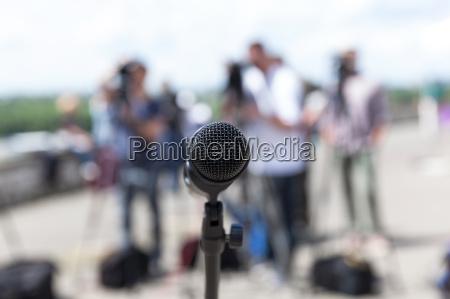 microfono conferenza f stampa inv