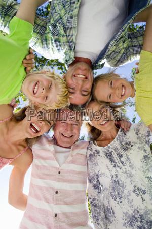 portrait of a multi generation family