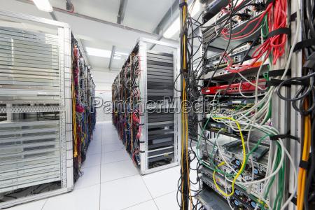 sala server del data center