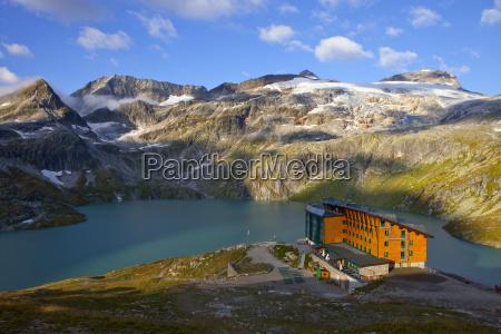 inverno nuvola austria orizzontale albergo allaperto