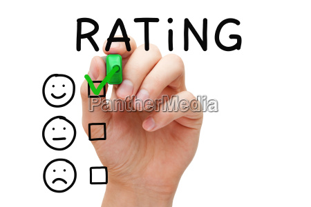 customer satisfaction rating concept