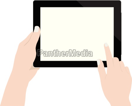 close up woman hand using digital