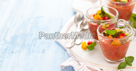 bicchiere pomodoro aperitivo spuntino zuppa smoothie