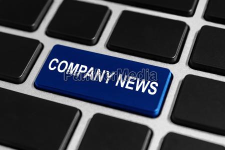 societa tasto notizie sulla tastiera