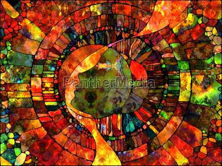 virtual stained glass