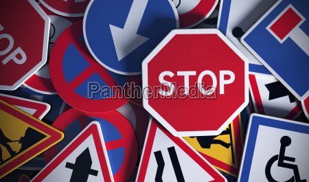 segnali stradali francesi sicurezza