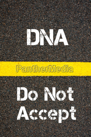 business acronym dna do not accept