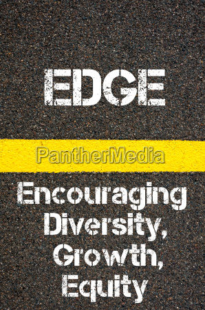 business acronym edge encouraging diversity growth