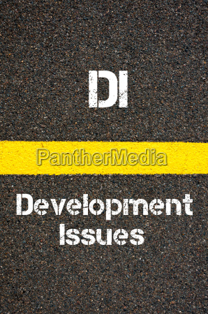 business acronym di development issues