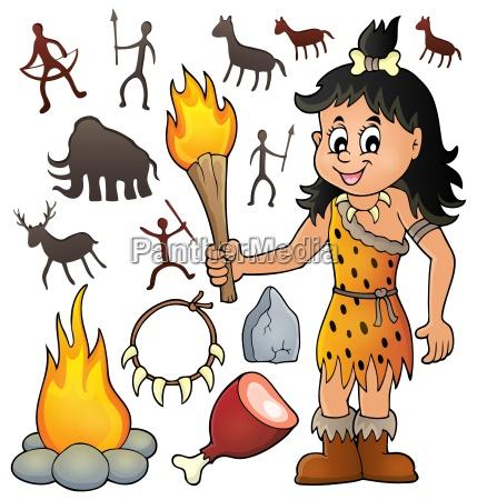 donna storia antico vecchissimo preistoria preistorico