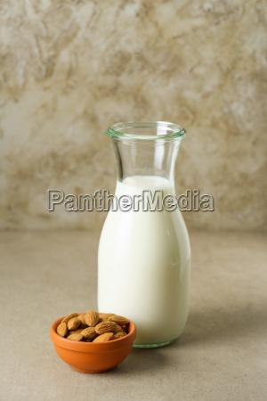 latte vegetariano mungere fatto in casa