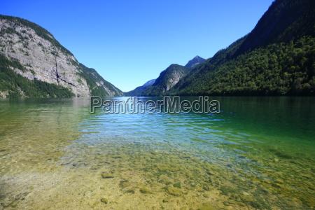 montagne conservazione della natura baviera germania