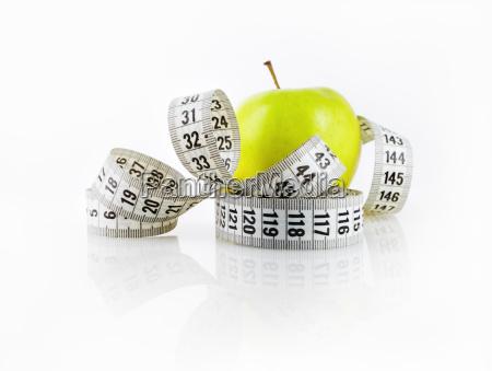 apple e nastro di misurazione