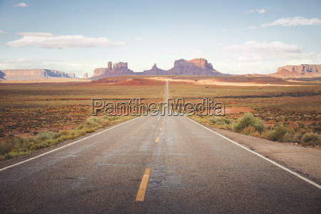 usa arizona road to monument valley